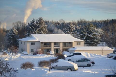 雪景色 寒