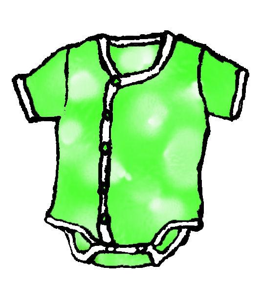 赤ちゃんの夏服