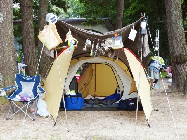 キャンプテント